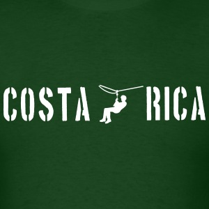 Costa Rica Zip Lining T-Shirts - Men's T-Shirt