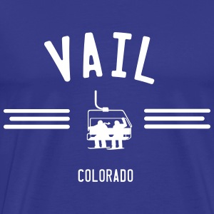 Vail Colorado T-Shirts - Men's Premium T-Shirt