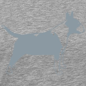 Bull Terrier SIDE 1c T-Shirts - Men's Premium T-Shirt