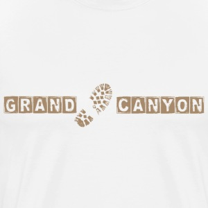 Grand Canyon Hiking T-Shirts - Men's Premium T-Shirt
