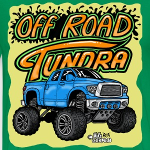 Off Road Toyota Tundra 4x4 pickup - Men's Premium T-Shirt