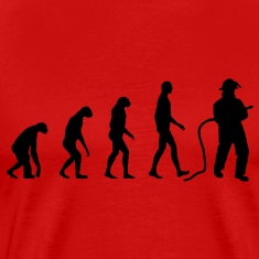 Evolution Firefighter T-Shirts