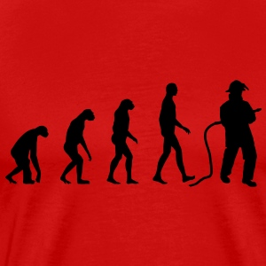 Evolution Firefighter T-Shirts - Men's Premium T-Shirt