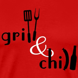 Grill & Chill T-Shirts - Men's Premium T-Shirt