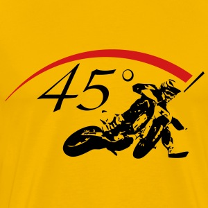 45° Supermoto Biker - Men's Premium T-Shirt