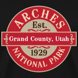Arches National park T-Shirts - Men's Premium T-Shirt