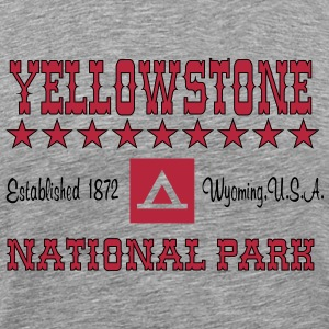Yellowstone National Park T-Shirts - Men's Premium T-Shirt
