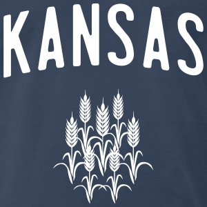 Kansas Wheat T-Shirts - Men's Premium T-Shirt