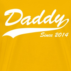 daddy since 2014 - Men's Premium T-Shirt