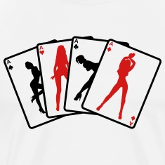 Strip poker T-Shirts