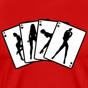 Strip poker T-Shirts - Men's Premium T-Shirt