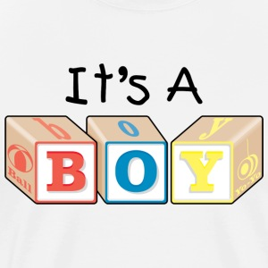 New Dad Baby Boy T-Shirt - Men's Premium T-Shirt