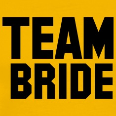 team_bride T-Shirts