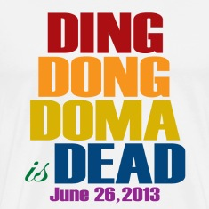 Ding Dong DOMA is Dead T-Shirts