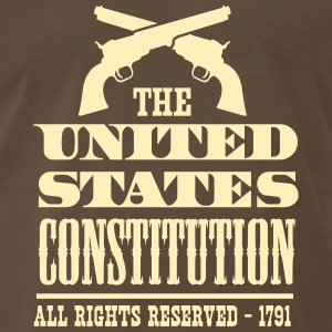 United States Constitution 1791 T-Shirts - Men's Premium T-Shirt