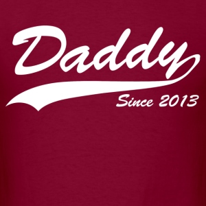daddy since 2013 - Men's T-Shirt