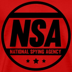 NSA National Spying Agency T-Shirts - Men's Premium T-Shirt