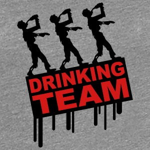 Drunken Party Zombies Drinking Team Women's T-Shirts - Women's Premium T-Shirt