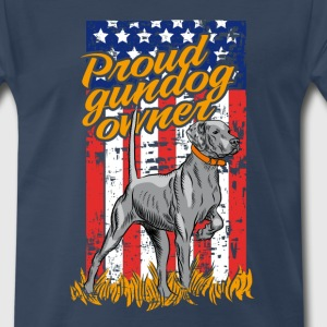 proud_gundog_owner T-Shirts - Men's Premium T-Shirt