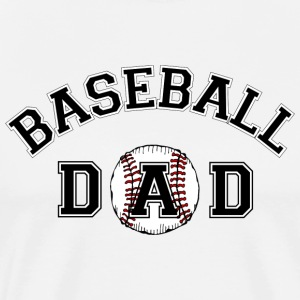 Baseball Dad T-Shirt - Men's Premium T-Shirt
