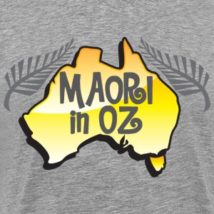 MAORI in OZ (Australia) New Zealand T-Shirts - Men's Premium T-Shirt