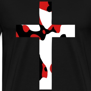 Abstract Cross T-Shirts - Men's Premium T-Shirt