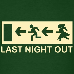 bachelor escape last night out T-Shirts - Men's T-Shirt