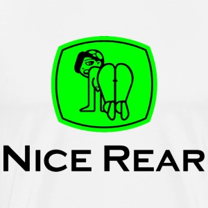 Nice Rear v2 (PNG) T-Shirts - Men's Premium T-Shirt