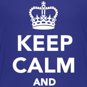 Keep calm and Kids' Shirts - Kids' Premium T-Shirt