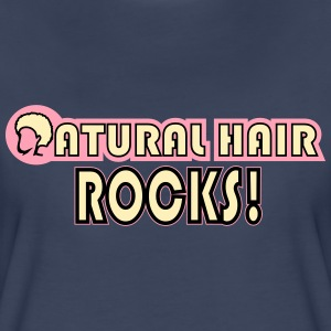 Natural Hair Rocks Women's T-Shirts - Women's Premium T-Shirt