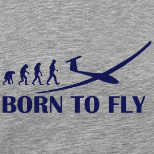 born to fly T-Shirts - Men's Premium T-Shirt