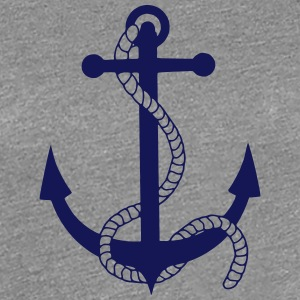 anchor ship boat harbour sailing captain sea Women's T-Shirts - Women's Premium T-Shirt
