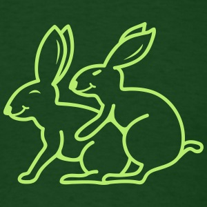 Sexy Rabbits T-Shirts - Men's T-Shirt