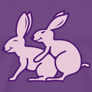 Sex Rabbits T-Shirts - Men's Premium T-Shirt