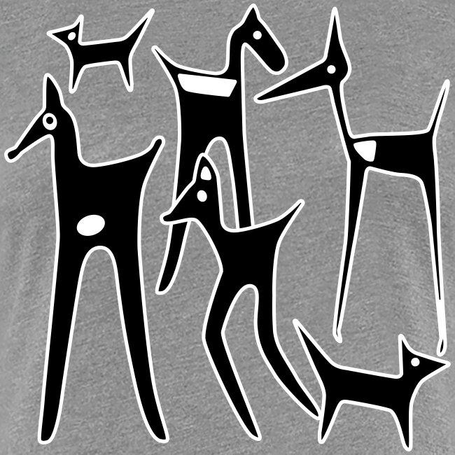 stylized animals