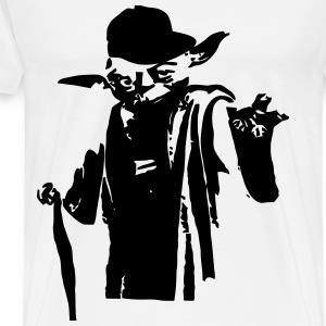 Yoda Hat - Men's Premium T-Shirt