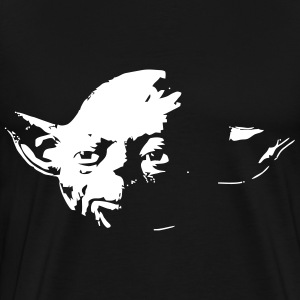 Yoda Head - Men's Premium T-Shirt