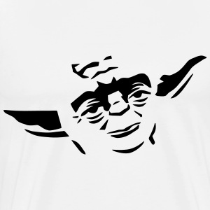 Yoda Face - Men's Premium T-Shirt
