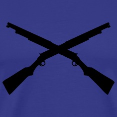 shotgun_crossed shooting T-Shirts