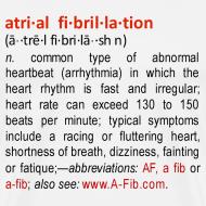 Design ~ A-Fib definition~