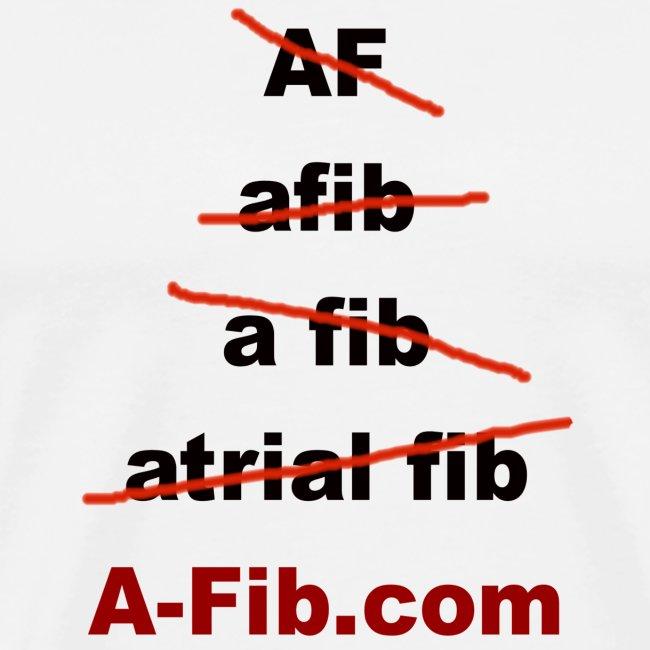 A-Fib spelling~