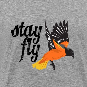 Baltimore Baseball Stay Fly Men's Shirt - Men's Premium T-Shirt