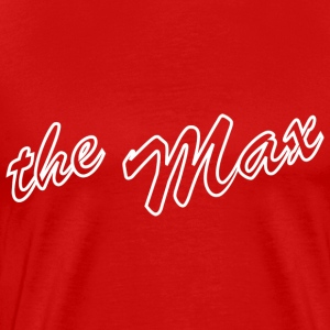 The Max T-shirt Red - Men's Premium T-Shirt