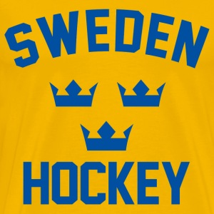 sweden team hockey - Men's Premium T-Shirt