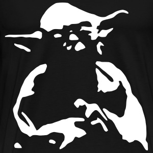 Yoda Outline - Men's Premium T-Shirt