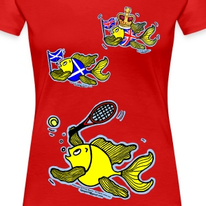 Well Done Andy Murray for winning Wimbledon 2013 - Women's Premium T-Shirt
