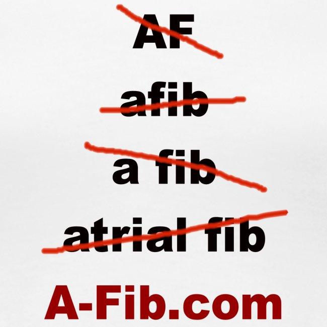 A-Fib spelling`