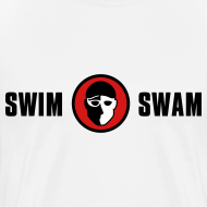 Design ~ SwimSwam Classic Men's Basic Tee (White)