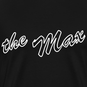 The Max T-shirt Black - Men's Premium T-Shirt