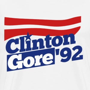 Clinton Gore 1992 - Men's Premium T-Shirt